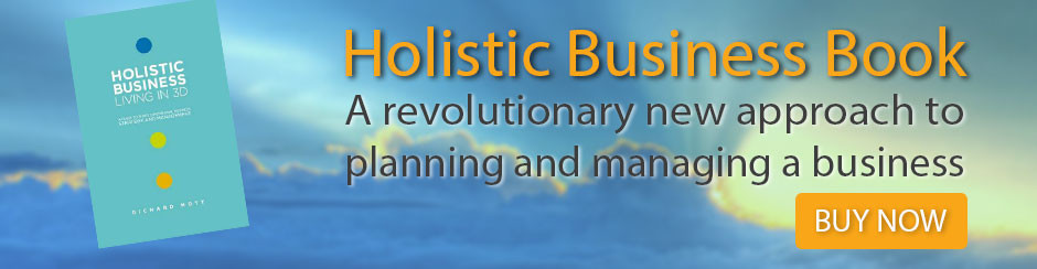 Holistic Business Book - A revolutionary new approach to planning and managing a business - BUY NOW!